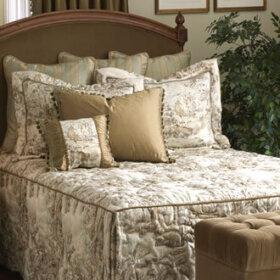 custom bedspread from calico corner