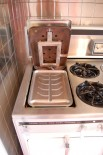 Vintage Chambers stoves & oven in the time capsule house