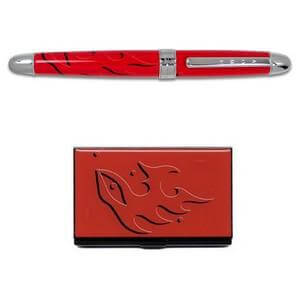 timo-sharpeneva-rollerball-pen-and-business-card-case