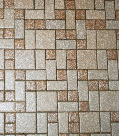 brown-and-tan-mosaic-tile
