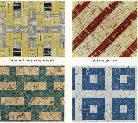 Patterns For Vinyl Floor Tiles From The S Retro Renovation - Percentage of asbestos in floor tiles