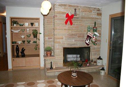 mid-century-stone-fireplace