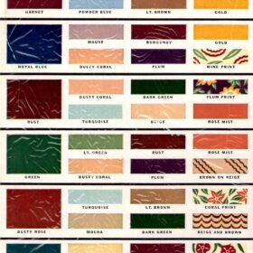 1940s color guide