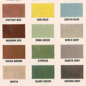 paint colors for a ranch house