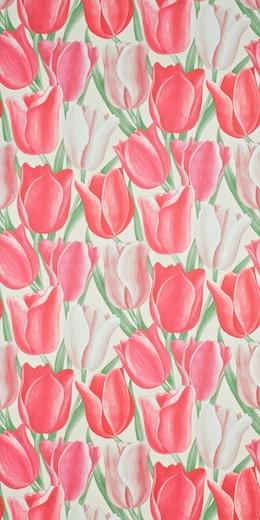 sanderson early tulips wallpaper