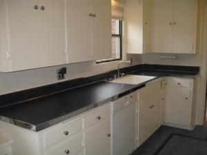 steel countertop edging