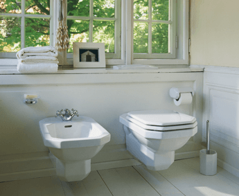 duravit 1930s bathroom sink toilet tub retro renovation. Black Bedroom Furniture Sets. Home Design Ideas