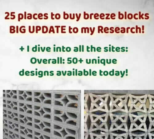 breeze block walls
