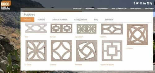 breeze block designs