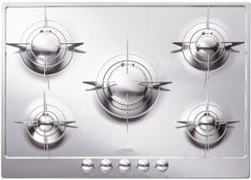 midcentury gas cooktop