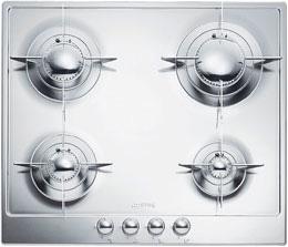 midcentury modern gas cooktop