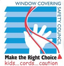 window covering safety council graphic