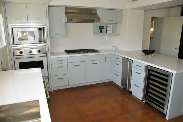 St charles steel kitchen cabinets are restored to frank Metal kitchen cabinets