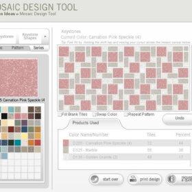 daltile mosaic tile designer
