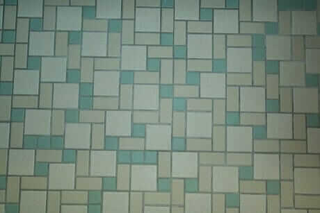 Colorful Mosaic Floor Tiles Highlight Lauren S Mid Century
