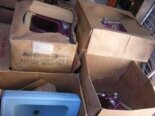 A truckload of vintage Crane sinks, mint-in-box: Feast your eyes
