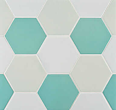 4 hex tile from ann sacks retro renovation for 1 inch hexagon floor tiles
