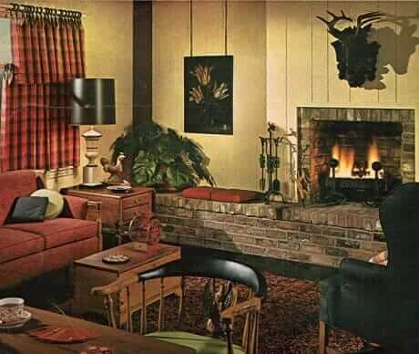 1969-family-room-with fireplace-and-rust-colored-sofa