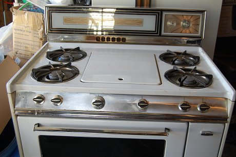old tappan gas range