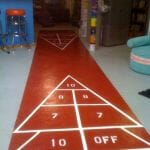 how to make a shuffleboard