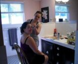 """Julie's 1961 pink bathroom: After 12 years, from """"never loved"""" to """"not too bad"""""""