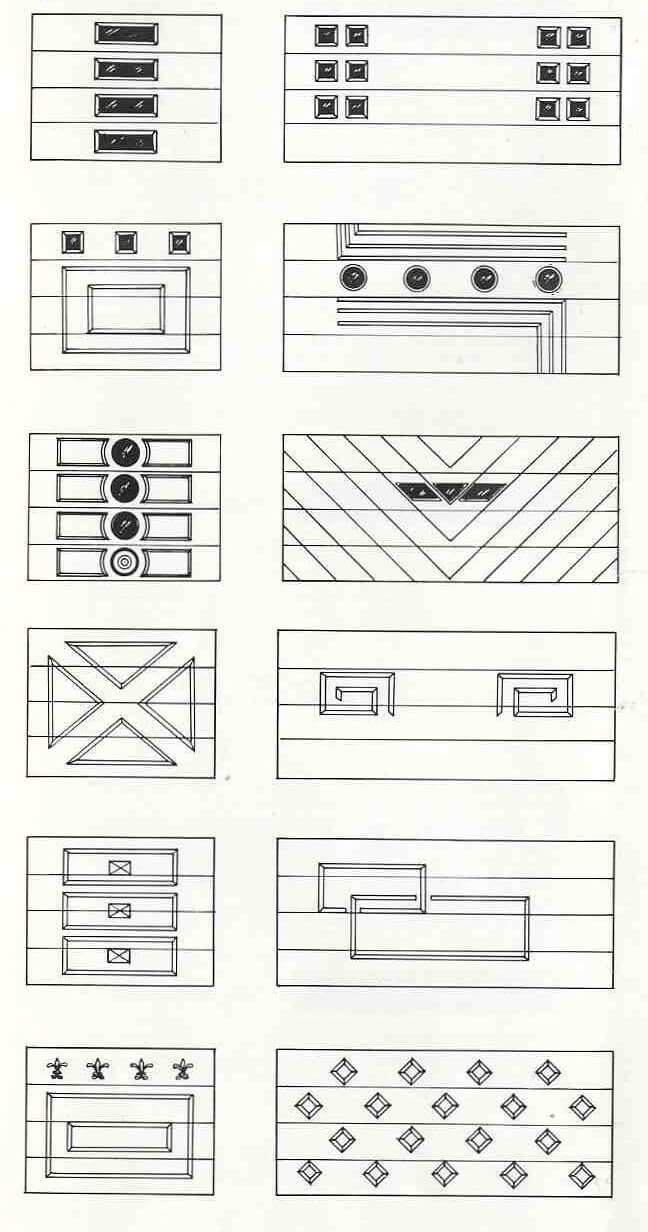 retro garage door designs