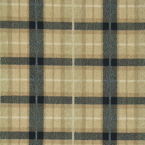plaid wool carpeting