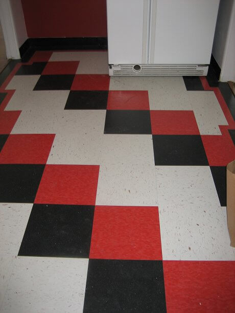 linoleum flooring black and white checkered linoleum flooring