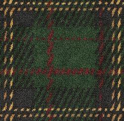 green scottish plaid carpet from shaw