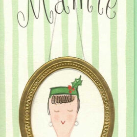 mamie eisenhower christmas card