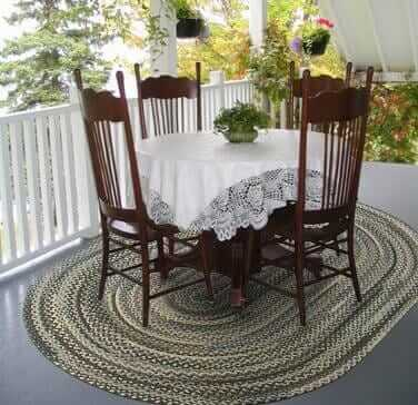 Braided Rugs From Thorndike Mills Retro Renovation