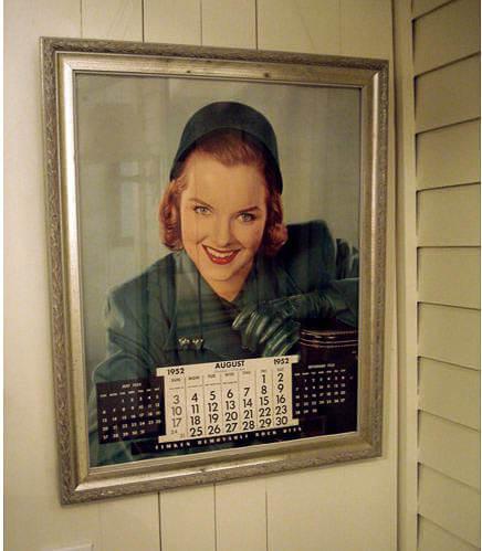 1952 calendar girl