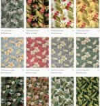 Barkcloth fabric — 155 designs from 6 companies available today + vintage, of course!