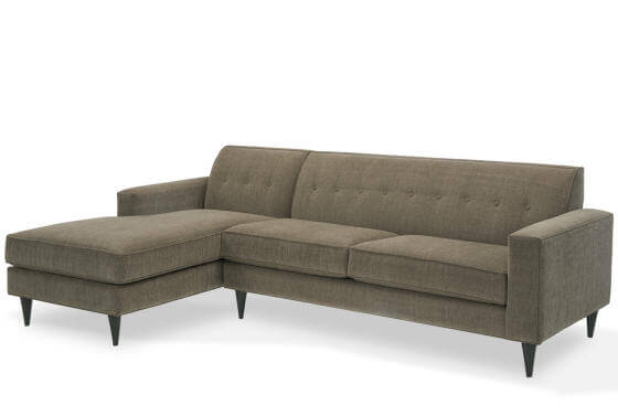 Mad Men Sofa With Chaise Younger Furniture