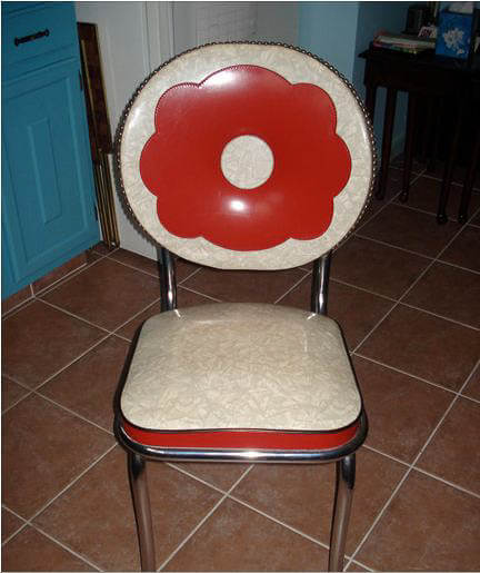 1940s kitchen chair