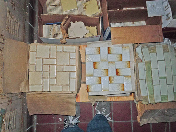 Where To Find Vintage Bathroom Tile Follow Jason And Nicky On Their
