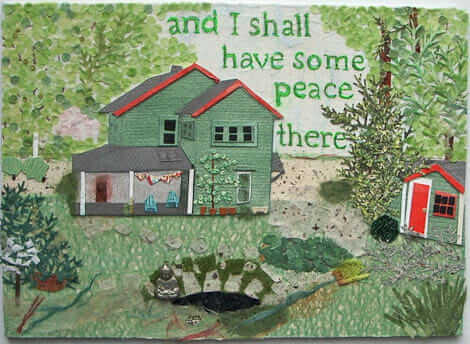 and i shall have some peace there collage