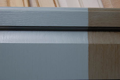 Repaint your kitchen cabinets without stripping or sanding ... on georgia pacific kitchen cabinets, benjamin moore kitchen cabinets, graco kitchen cabinets,