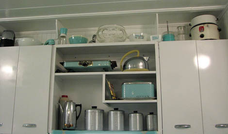 turquoise kitchen accessories