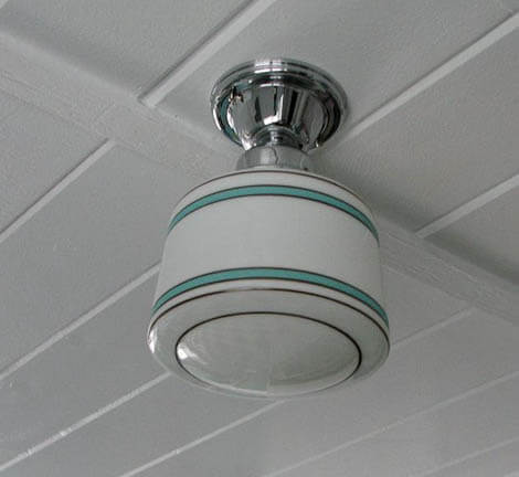Retro Kitchen Light Fixtures. Create A Large Fabulous Retro Kitchen And  Breakfast Room For Less