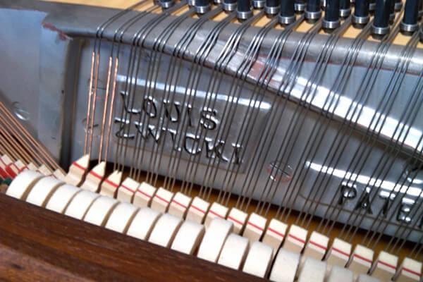 mid century modern piano