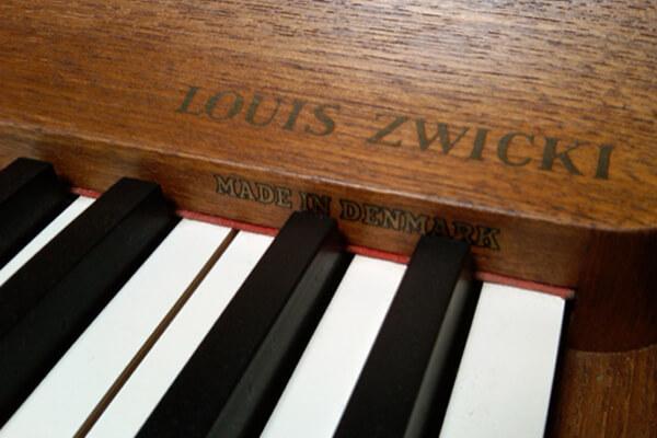 danish modern piano