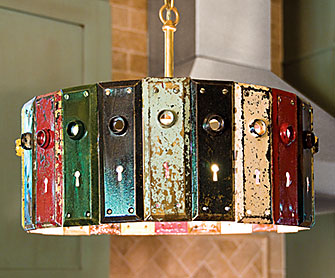 Put a bulb in it 24 upcycled pendant lights made from thrifty antique aloadofball Images