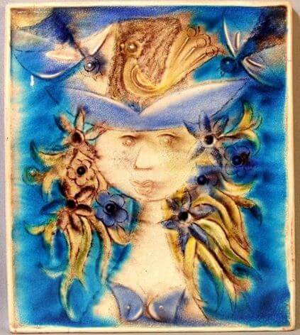 art tile from bungalow bill