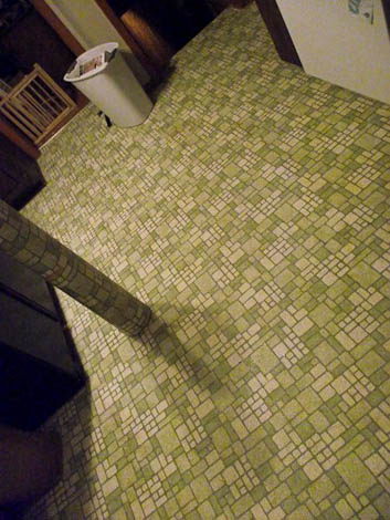 avocado vinyl flooring