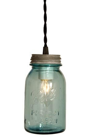 Ball Jar Pendant Light From Barnlight Electric