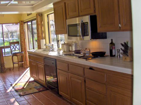 kitchen cabinets updated using rustoleum cabinet transformations kit process