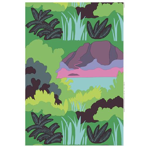 marimekko sola fabric from 1977