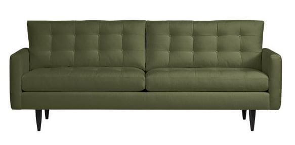 petrie sofa by crate and barrel