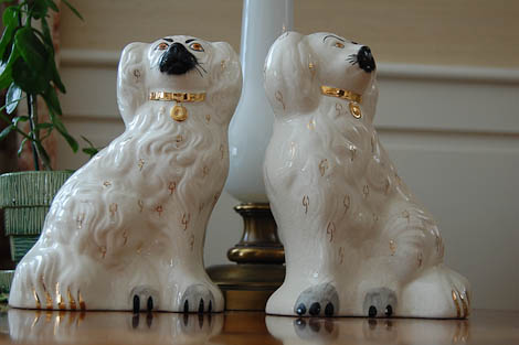 staffordshire dogs by beswick ware